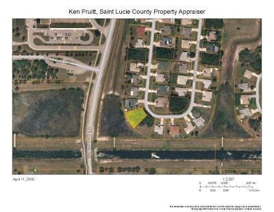Port Saint Lucie FL Residential Lots & Land Closed: $24,500