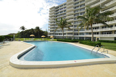 Delray Beach Condo Sold: 1225 S Ocean Boulevard #404