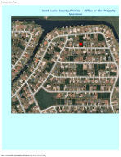 Port Saint Lucie FL Residential Lots & Land Closed: $19,500