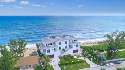 Gulf Stream, Ocean Ridge Townhouse For Sale: 5003 Old Ocean Boulevard