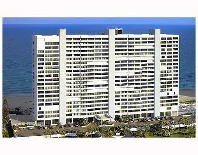 Boca Raton Condo Sold: 2600 S Ocean Boulevard #15-F