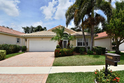 Boynton Beach FL Single Family Home Closed: $360,000