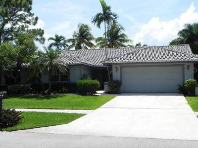 Boca Raton FL Single Family Home For Sale: $450,000