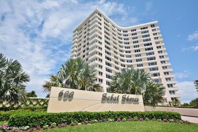 Sabal Shores, Sabal Shores Apts Condo, Sabal Shores Condo Condo For Sale: 600 S Ocean Boulevard #9080
