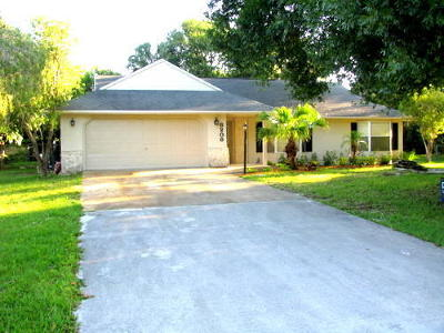 Fort Pierce FL Single Family Home Closed: $146,000