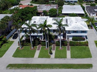 Boca Raton Riviera Townhouse For Sale: 125 Ocean Boulevard #3
