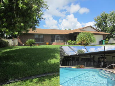 Port Saint Lucie FL Single Family Home Closed: $178,000