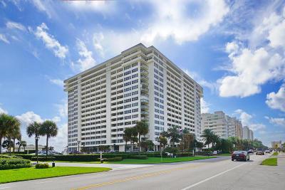 Boca Raton Condo Sold: 2000 S Ocean Boulevard #10-A