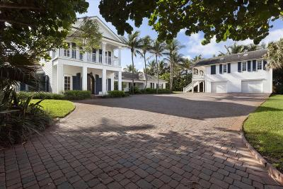 Broward County, Palm Beach County Single Family Home For Sale: 6285 Ocean Boulevard