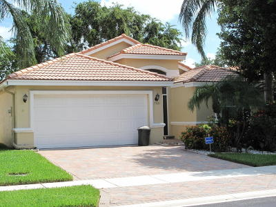 Boynton Beach Single Family Home Contingent: 7261 Modena Drive