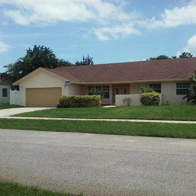 Boca Raton FL Single Family Home Leased: $439,900