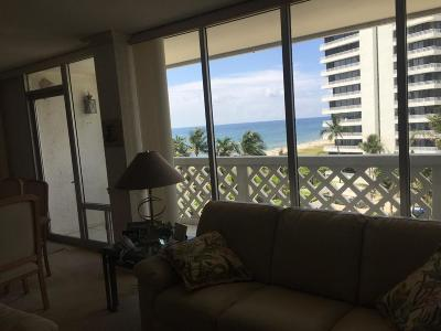 Cloister Beach Towers Condo Condo For Sale: 1200 S Ocean Boulevard #5 D