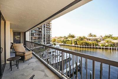 Highland Beach Condo Sold: 4740 S Ocean Boulevard #401