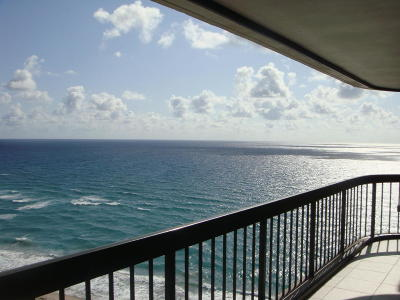Eastpointe Condo Rental For Rent: 5380 Ocean Drive #Ph-G