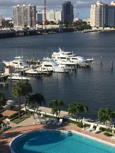 Palm Beach Rental Leased: 150 Bradley Place #604