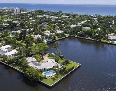 Gulf Stream, Ocean Ridge Single Family Home For Sale: 588 Banyan Road