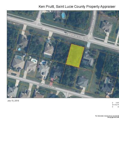 Port Saint Lucie FL Residential Lots & Land Closed: $14,500