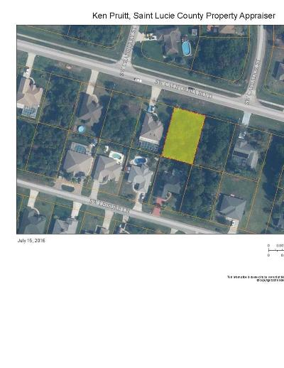 Port Saint Lucie FL Residential Lots & Land Sold: $14,500