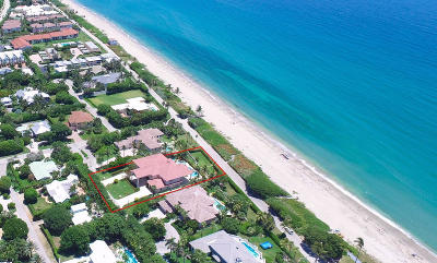 Ocean Ridge Single Family Home For Sale: 5516 Old Ocean Boulevard