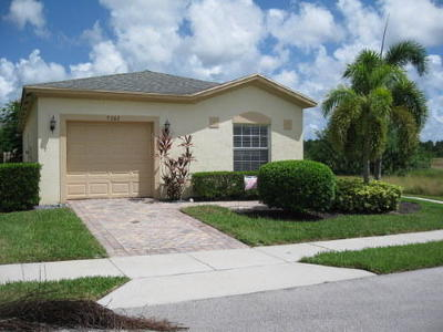 Single Family Home Sold: 9302 Treasure Coast Street