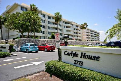 Palm Beach Condo For Sale: 2773 S Ocean Boulevard #3160