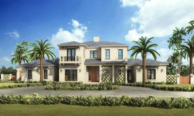 Broward County, Palm Beach County Single Family Home For Sale: 10 Driftwood Landing Spec Road