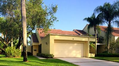 Palm Beach Gardens FL Townhouse Sold: $370,000