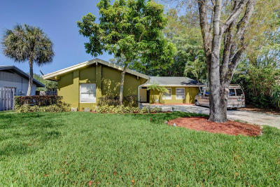 Boca Raton Single Family Home For Sale: 3048 NW 25th Way