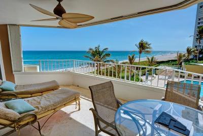 Boca Raton Condo Sold: 500 S Ocean Boulevard #304