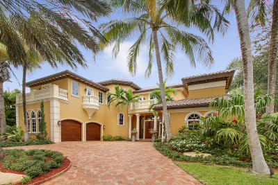 North Palm Beach Single Family Home Contingent: 769 Harbour Isles Place