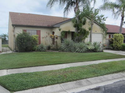 Port Saint Lucie FL Single Family Home Closed: $99,500