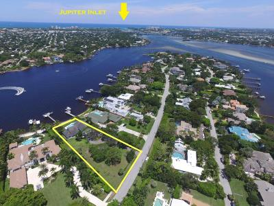Tequesta Residential Lots & Land Contingent: 18996 Point Drive