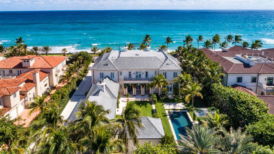 Palm Beach Single Family Home For Sale: 530 S Ocean Boulevard