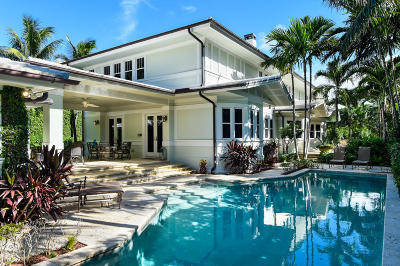 Palm Beach Single Family Home For Sale: 113 Clarke Avenue