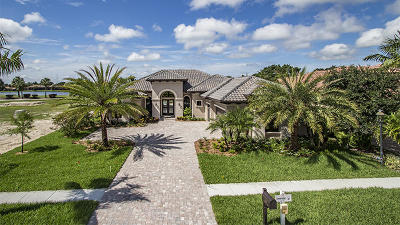 West Palm Beach Single Family Home For Sale: 7123 Winding Bay Lane