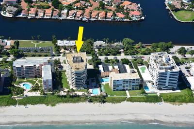 Highland Beach Condo Sold: 2917 S Ocean Boulevard #802