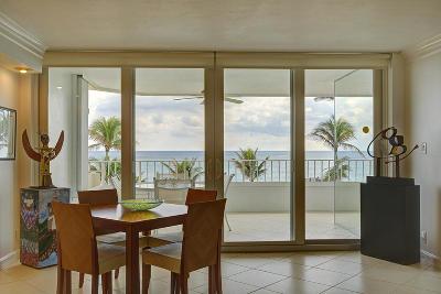 Boca Raton Condo Sold: 500 S Ocean Boulevard #308