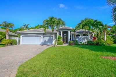 Hobe Sound Single Family Home For Sale: 4865 SE Longleaf Place