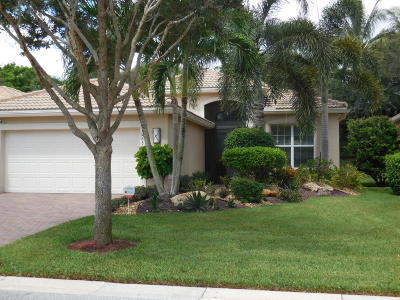 Boynton Beach Single Family Home For Sale: 10681 Richfield Way