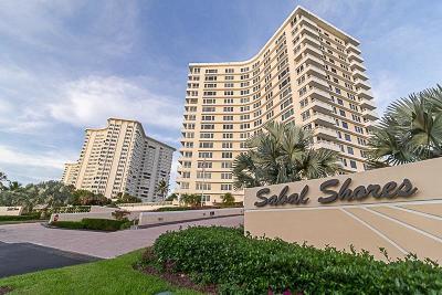 Boca Raton Condo Sold: 600 S Ocean Boulevard #9050
