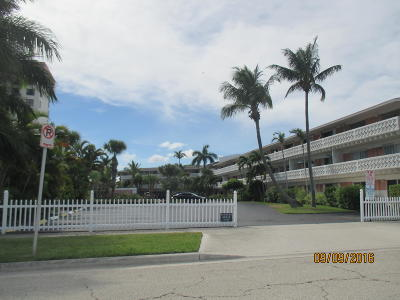 West Palm Beach Rental Leased: 3705 S Flagler Drive #24