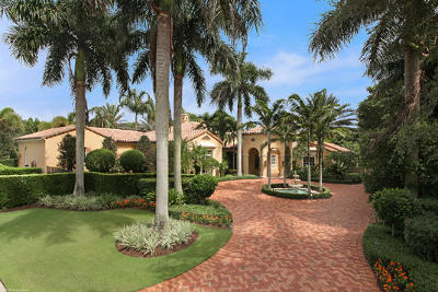 Palm Beach Gardens Single Family Home For Sale: 11716 Tulipa Court