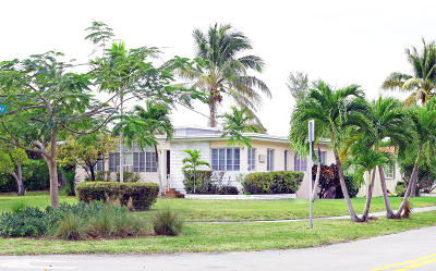 Miami Single Family Home For Sale: 1201 S Biscayne Point Road