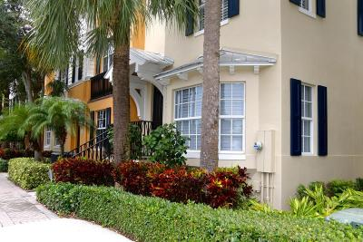 Delray Beach Townhouse For Sale: 336 W Mallory Circle
