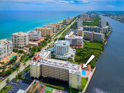 Highland Beach Condo Sold: 3114 S Ocean Boulevard #302