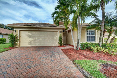 Boynton Beach Single Family Home Contingent: 12180 La Vita Way
