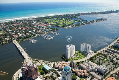 West Palm Beach Condo For Sale: 1100 S Flagler Drive #10b