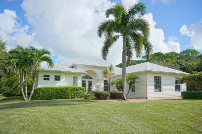 Palm City Single Family Home Contingent: 2800 SW Boat Ramp Avenue