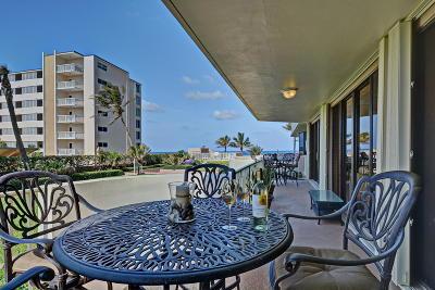 Highland Beach Condo Sold: 2917 S Ocean Boulevard #101