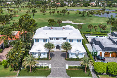 Boca Raton Single Family Home Sold: 1899 Royal Palm Way